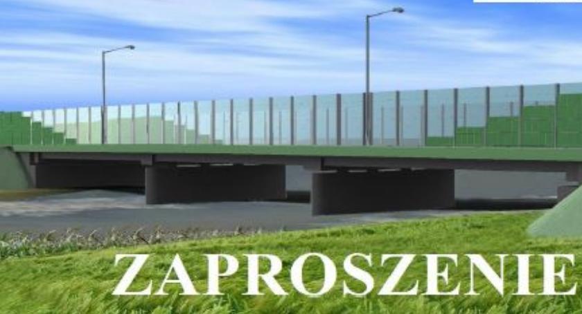 Inwestycje, Uroczyste otwarcie mostu przez Świder - zdjęcie, fotografia