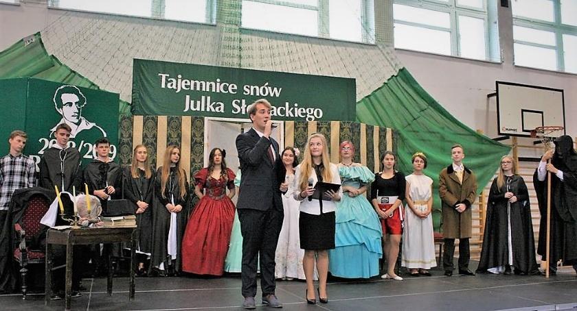 Edukacja - nauka, Piękny jubileusz Juliusza Słowackiego - zdjęcie, fotografia