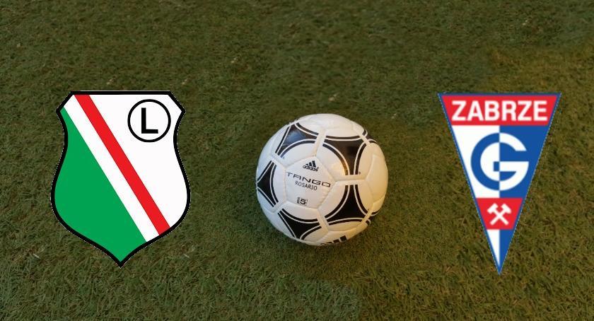 Piłka nożna, Wyjazd Legia Górnik - zdjęcie, fotografia