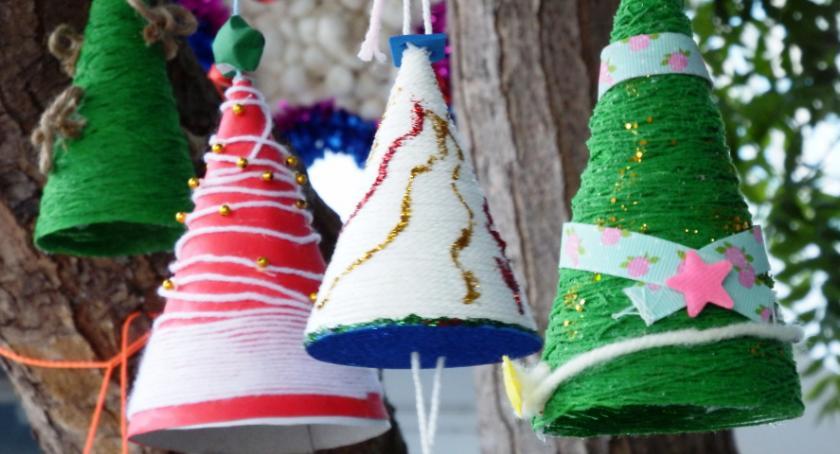 Konkurs, Konkurs plastyczny świąteczna choinka - zdjęcie, fotografia