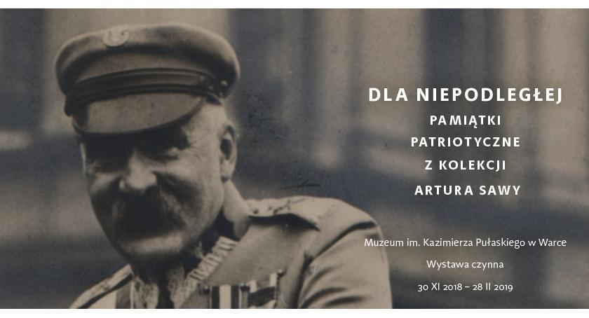 Wystawy, Niepodległej Pamiątki patriotyczne kolekcji Artura - zdjęcie, fotografia