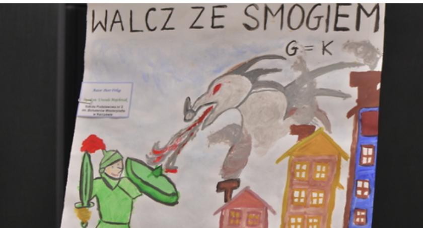 Edukacja - nauka, Uczeń Karczewa nagrodzony konkursie ekologicznym - zdjęcie, fotografia