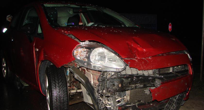 Wypadki drogowe , Wypadek Duckiej - zdjęcie, fotografia