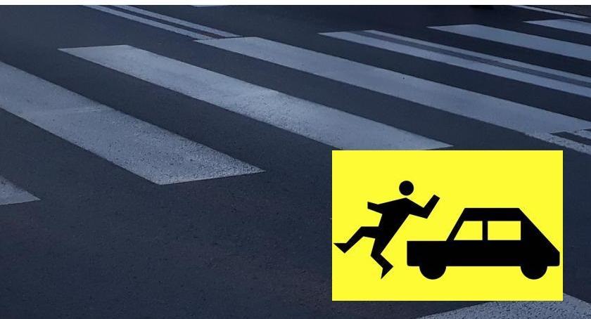 Wypadki drogowe , Potrącenie pieszego Kołłątaja - zdjęcie, fotografia