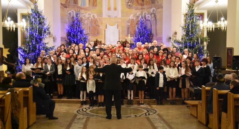 Koncerty - muzyka, Koncert Kolęd Chórów Powiatu Otwockiego - zdjęcie, fotografia
