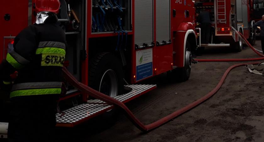 Interwencje Straży Pożarnej , Pożar Sufczynie - zdjęcie, fotografia