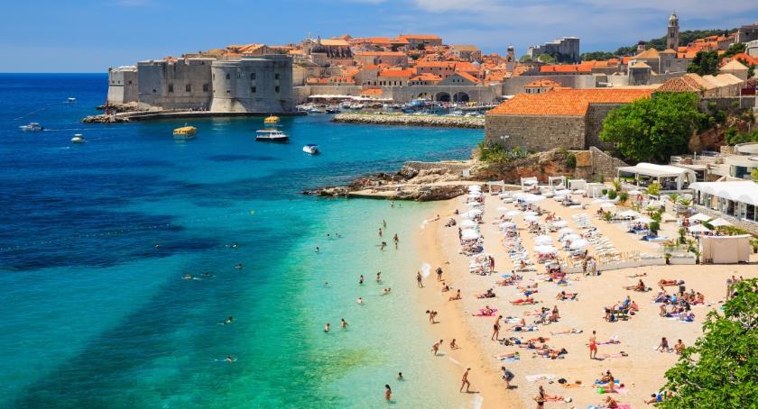 Tekst sponsorowany, Najpiękniejsze plaże chorwackiej Dalmacji - zdjęcie, fotografia