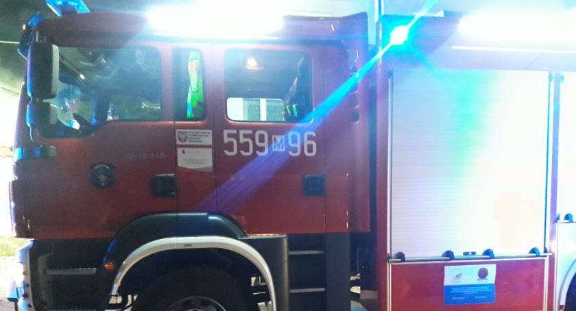 Interwencje Straży Pożarnej , Pożar Karczewskiej - zdjęcie, fotografia