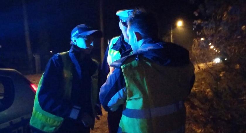 Komunikaty policji, sprawca śmiertelnego potrącenia policja szuka świadków - zdjęcie, fotografia