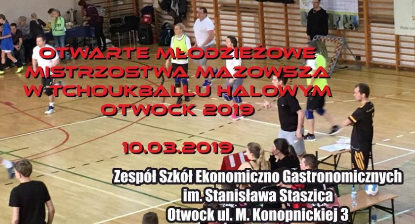Sport - dyscypliny inne, Otwarte Młodzieżowe Mistrzostwa Mazowsza Tchoukballu halowym - zdjęcie, fotografia
