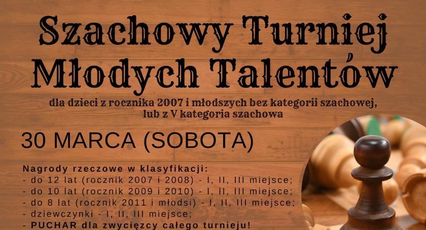 Szachy, Szachowy turniej młodych talentów Klubie Batory Otwocku - zdjęcie, fotografia