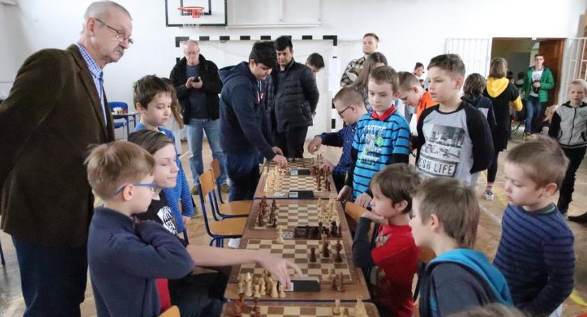 Szachy, Otwarte Mistrzostwa Szkoły Podstawowej Otwocku szachach szybkich - zdjęcie, fotografia