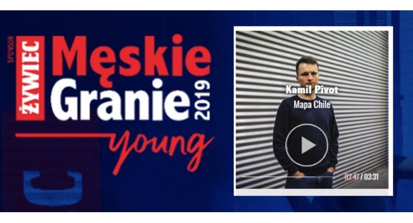 Konkurs, Kamil Pivot konkursie Męskie Granie Young głosuj! - zdjęcie, fotografia