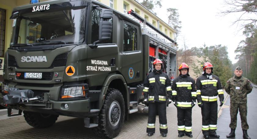 Infrastruktura, strażacki ministra WOFiTM Celestynowie - zdjęcie, fotografia