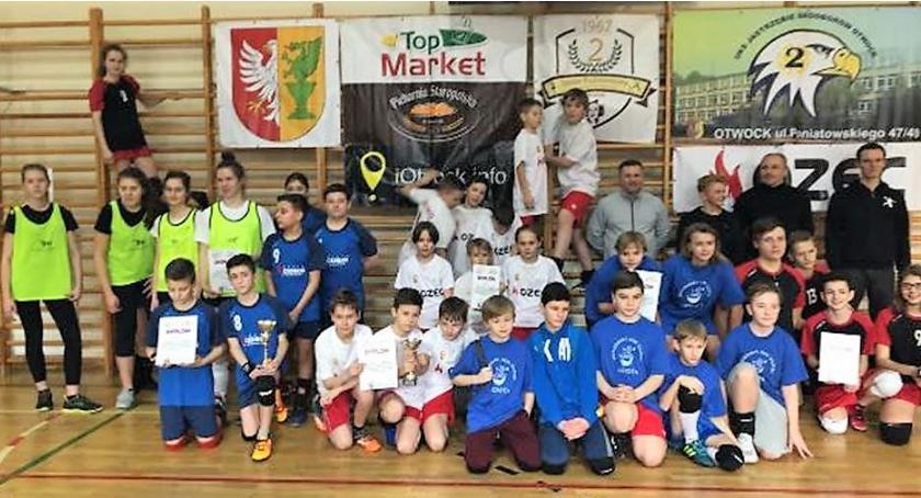 Sport - dyscypliny inne, Otwarte Mistrzostwa Mazowsza Tchoukballu Otwocku - zdjęcie, fotografia