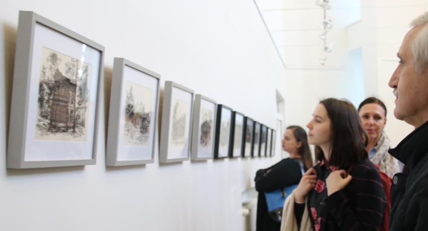 Wystawy, Wystawa rysunków architektury świdermajer - zdjęcie, fotografia