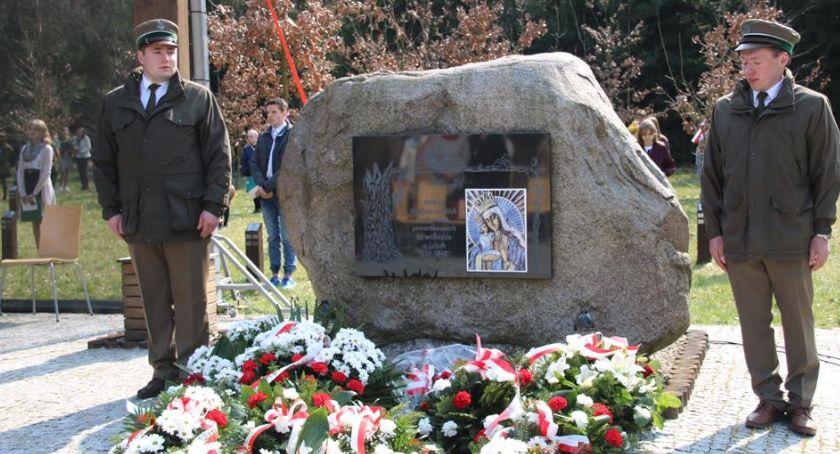 Historia, Zmiana warty Golgocie Leśników - zdjęcie, fotografia