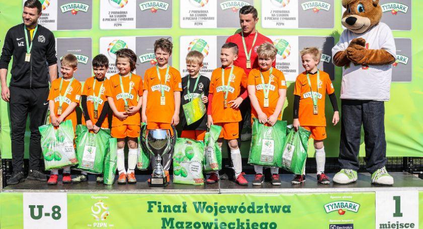 Piłka nożna, Drużyna Champion Otwock mistrzem województwa mazowieckiego - zdjęcie, fotografia