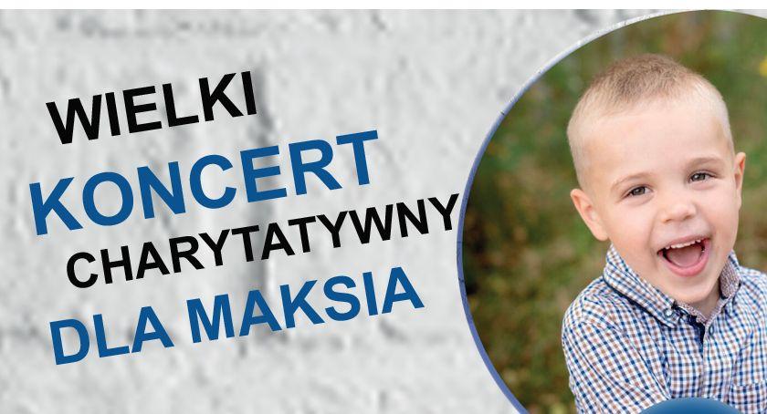 Imprezy, Wielki Koncert Charytatywny Maksia Karczewie - zdjęcie, fotografia