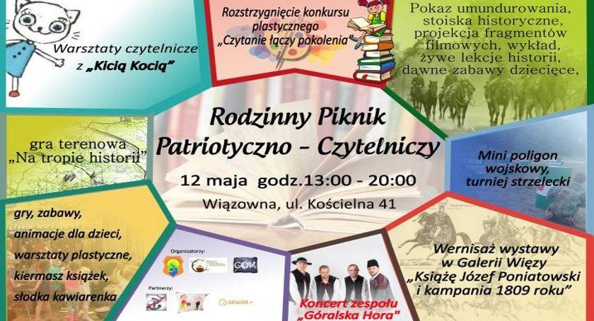 Imprezy, Patriotyczni czytelnicy Wiązownie - zdjęcie, fotografia