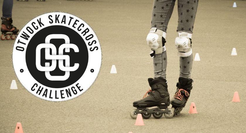 Rolki, Otwocki Scatecross Challenge gratka młodych miłośników rolek - zdjęcie, fotografia