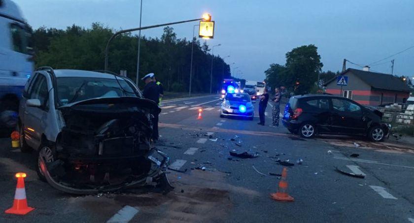 Wypadki drogowe , Wypadek - zdjęcie, fotografia