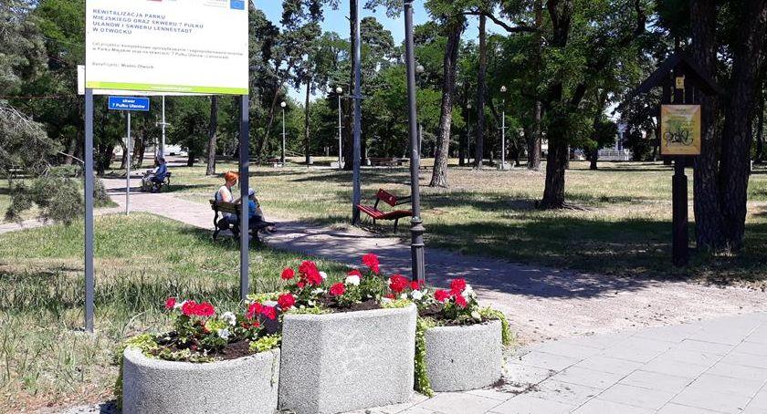 Parki i ogrody, otwockie kwiatki - zdjęcie, fotografia