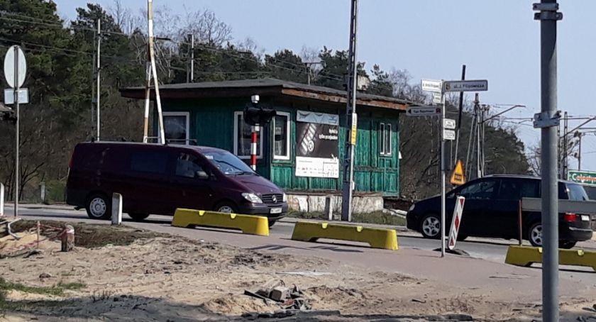 Komunikat, Zamknięcie przejazdu kolejowego ulicy Żeromskiego - zdjęcie, fotografia