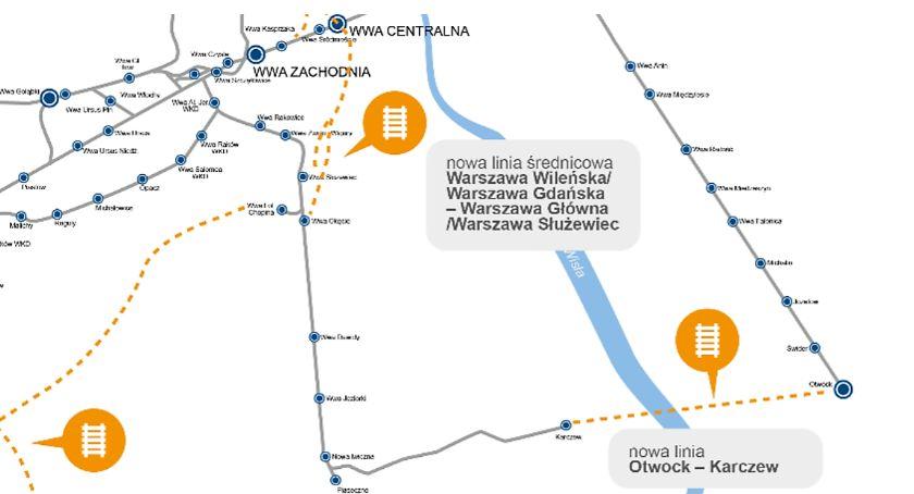 Infrastruktura, Linia kolejowa Otwock Karczew - zdjęcie, fotografia