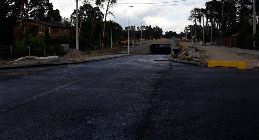 Komunikacja - drogi , Tunel Majowej otwarty jeszcze lipcu - zdjęcie, fotografia