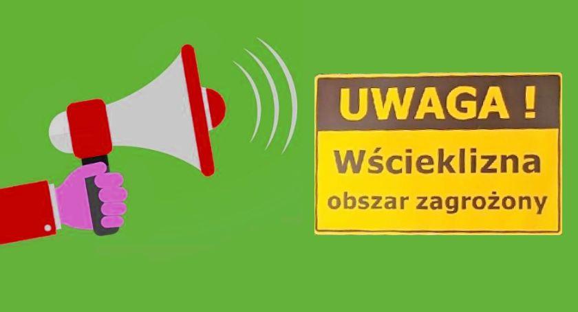 Komunikat, Uwaga! Otwock Karczew Józefów zagrożenie wścieklizną! - zdjęcie, fotografia