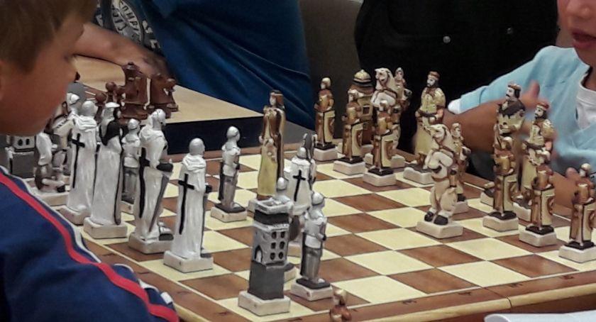 Szachy, Grunwald szachownicy - zdjęcie, fotografia