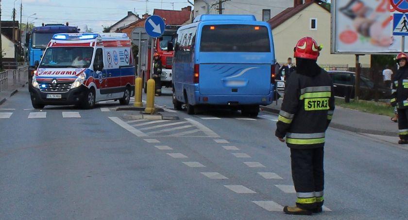 Wypadki drogowe , Śmiertelne potrącenie pieszej Kołbieli - zdjęcie, fotografia