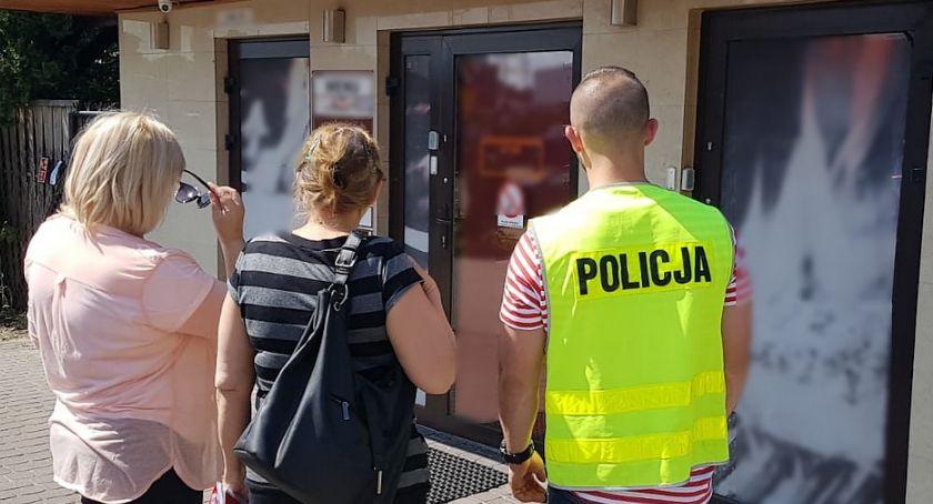 Bezpieczeństwo, Szukali dopalaczy trafili nielegalne automaty - zdjęcie, fotografia