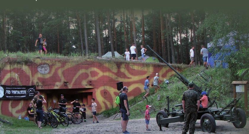 Historia, Piknik Forteczny Dąbrowieckiej Górze - zdjęcie, fotografia