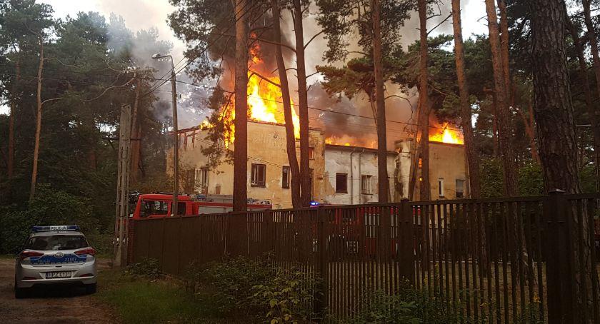 Interwencje Straży Pożarnej , Pożar Konopnickiej - zdjęcie, fotografia
