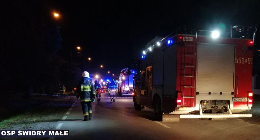 Wypadki drogowe , Wypadek Żeromskiego jedna ofiara śmiertelna osób szpitalach - zdjęcie, fotografia