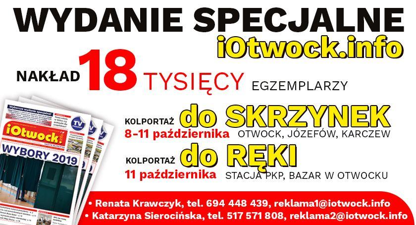 Tekst sponsorowany, Wyborcze wydanie specjalne iOtwock info! - zdjęcie, fotografia