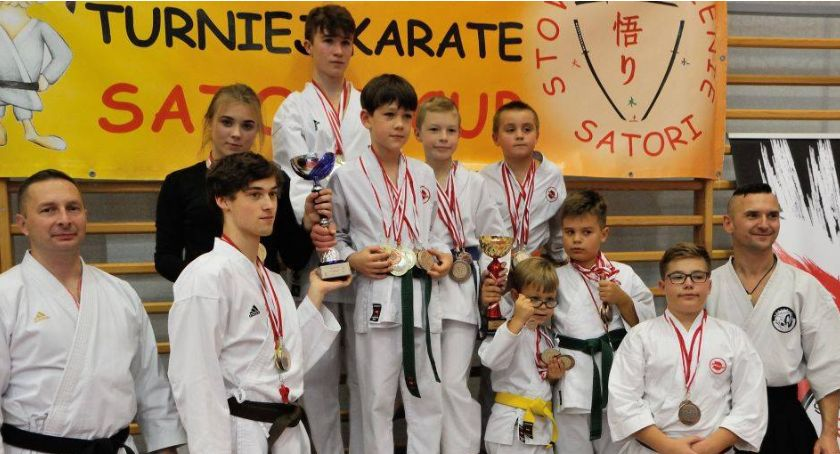 Sporty walki, Sokudziaki workiem medali turnieju Złotowie - zdjęcie, fotografia