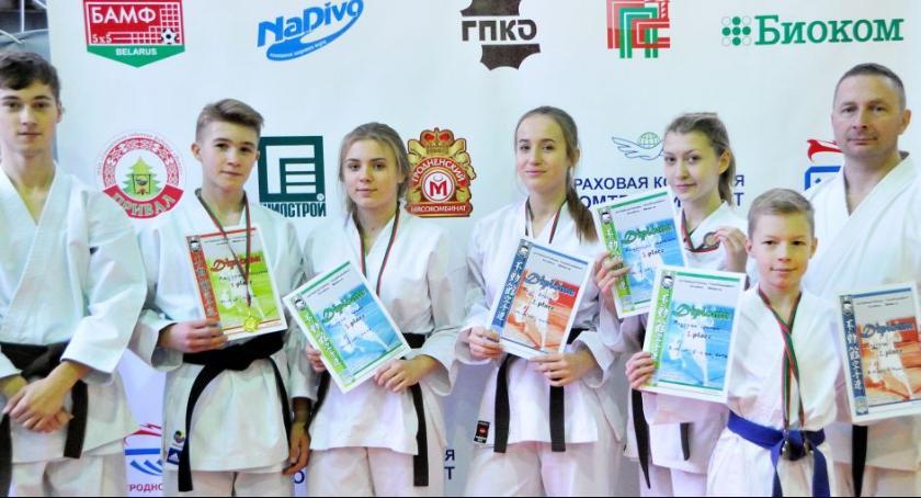 Sporty walki, Sokudo Grodnie Białorusi - zdjęcie, fotografia