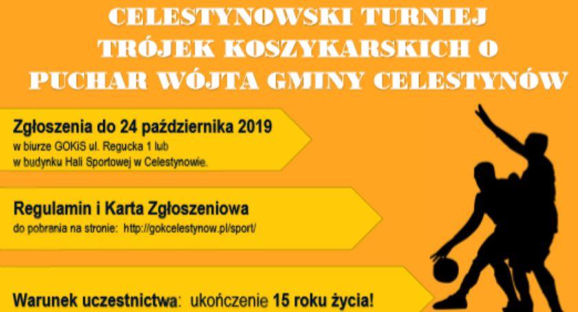 Koszykówka, Celestynowski Turniej Trójek Koszykarskich - zdjęcie, fotografia