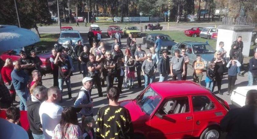 Imprezy, zabytkowych pojazdów urodziny Koziołka Matołka - zdjęcie, fotografia