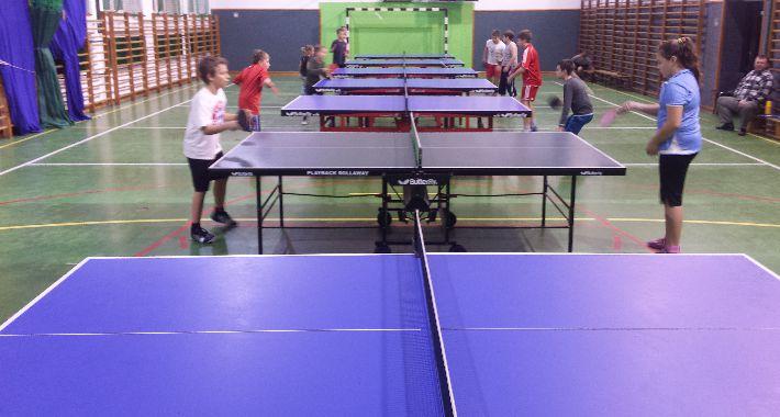 Tenis stołowy, Turniej okazji święta listopada - zdjęcie, fotografia