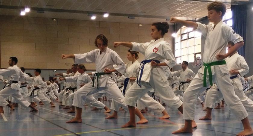 Sporty walki, Akademia Karate Otwock seminarium Paryżu - zdjęcie, fotografia