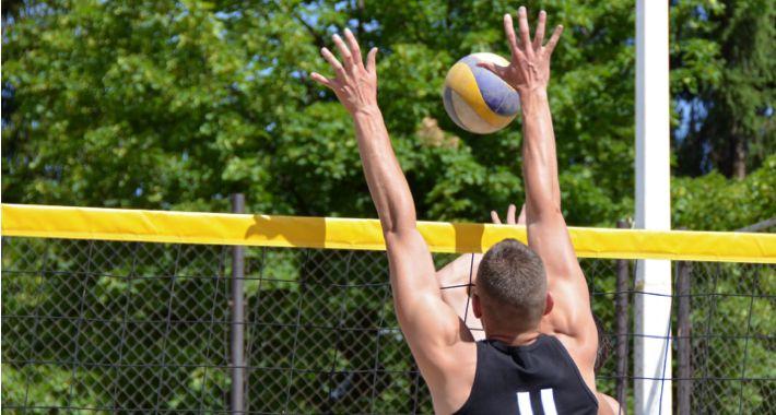 Piłka siatkowa, Brant czyli turniej siatkówki plażowej - zdjęcie, fotografia