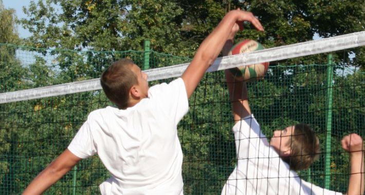 Piłka siatkowa, Rodzinny Turniej Piłki Siatkowej - zdjęcie, fotografia