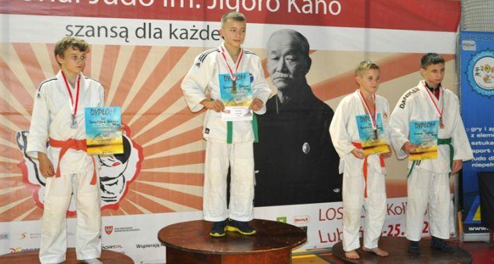 Judo, Sukces młodych judoków Józefów - zdjęcie, fotografia