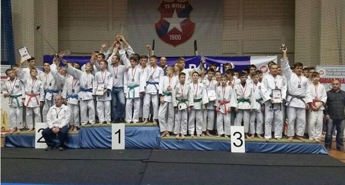 Judo, Młodzi judocy znów medalami - zdjęcie, fotografia