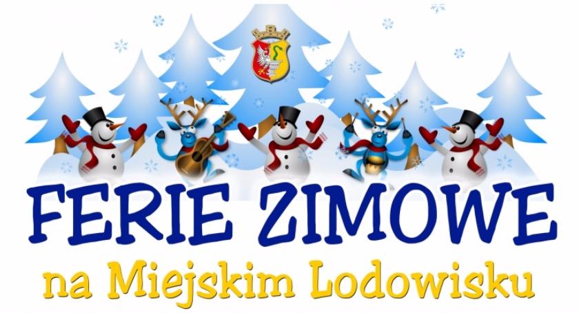 Sporty zimowe, Ferie Zimowe Miejskim Lodowisku Otwocku - zdjęcie, fotografia