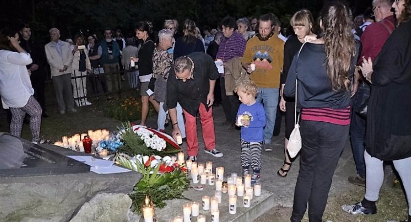 Historia, Marsz pamięci zamordowanych otwockich Żydów - zdjęcie, fotografia
